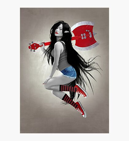 Marceline The Vampire Queen Photographic Print
