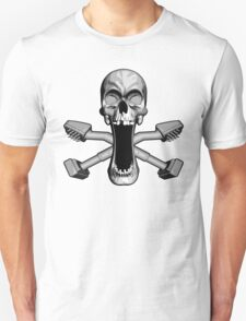 Carpet Layer Skull Unisex T-Shirt