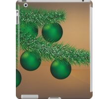 Christmas balls iPad Case/Skin