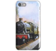 On the sea wall at Dawlish iPhone Case/Skin