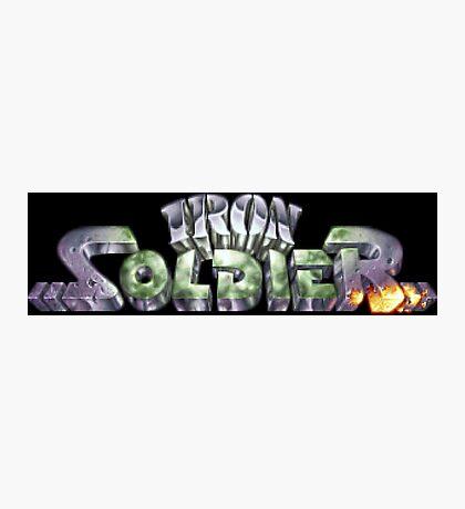 Iron Soldier (Jaguar Title Screen) Photographic Print