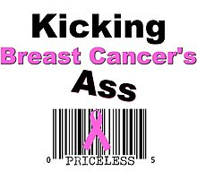 Kicking Breast Cancers A$$ Photographic Print