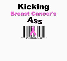 Kicking Breast Cancers A$$ Womens Fitted T-Shirt