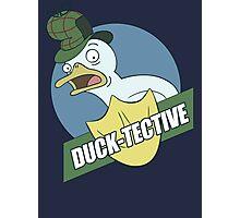Duck-Tective Photographic Print