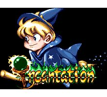 Incantation (SNES Title Screen) Photographic Print