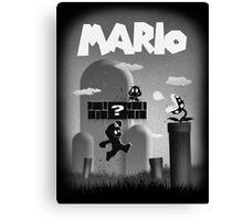 Mario in Limbo  Canvas Print