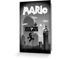 Mario in Limbo  Greeting Card