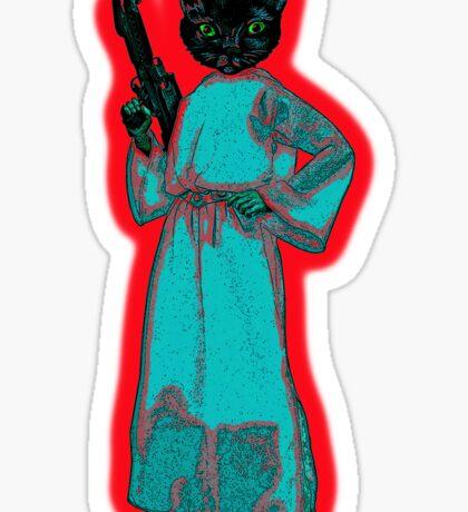 Princess Leicat Sticker