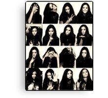 Vampire Diaries Elena - Nina Canvas Print