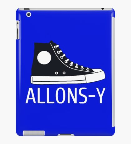 Allons-y Doctor who iPad Case/Skin
