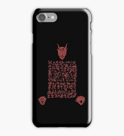Page from the Necronomicon! iPhone Case/Skin