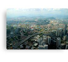 Cityscape - Kuala Lumpur, Malaysia Canvas Print