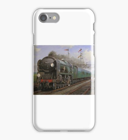 Merchant Navy pacific at Brookwood iPhone Case/Skin