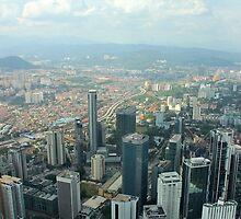 Cityscape II - Kuala Lumpur, Malaysia. by Tiffany Lenoir