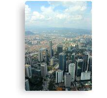 Cityscape II - Kuala Lumpur, Malaysia. Canvas Print