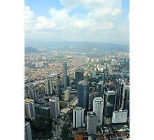 Cityscape II - Kuala Lumpur, Malaysia. Photographic Print