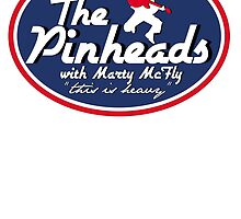 The Pinheads with Marty McFly by CarloJ1956