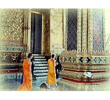 Monks at the Palace Photographic Print