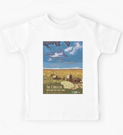 Vintage poster - The Oregon Trail Kids Tee