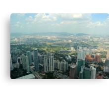 Cityscape III - Kuala Lumpur, Malaysia. Canvas Print