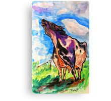 Happy Moo to You Canvas Print
