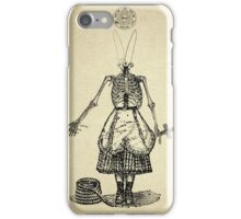No vengeance only divine justice and her wish to serve a god she never meet iPhone Case/Skin
