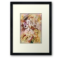 The Dancer and the Pierrot Framed Print
