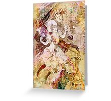 The Dancer and the Pierrot Greeting Card