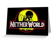 Nether World Greeting Card