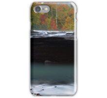 Haw Creek Falls iPhone Case/Skin