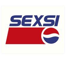 Pepsi - Sexsi  Art Print