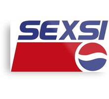 Pepsi - Sexsi  Metal Print