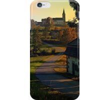 Road up to the hill | landscape photography iPhone Case/Skin