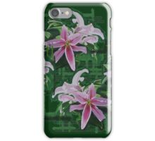 Sunkissed Lilies - PATTERN iPhone Case/Skin