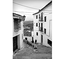 Calm Street Photographic Print
