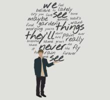 Oasis - Wee See Things - dark text by ecchy