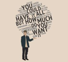 Oasis - You Could Have It All - lyrics quote by ecchy
