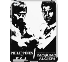 PACQUIAO-ALGIERI FIGHT iPad Case/Skin