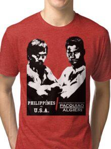 PACQUIAO-ALGIERI FIGHT Tri-blend T-Shirt