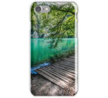 Aqua Blue Lakes of Plitvice iPhone Case/Skin
