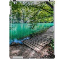 Aqua Blue Lakes of Plitvice iPad Case/Skin