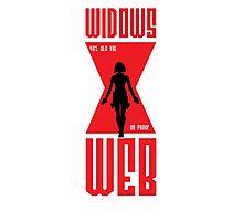Widows Web Vodka Photographic Print