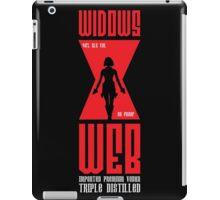 Widows Web Vodka iPad Case/Skin