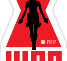 Widows Web Vodka Sticker