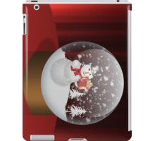Happy snowman iPad Case/Skin