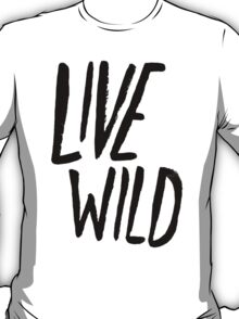 Live Wild: Ocean T-Shirt