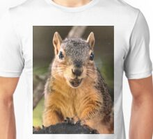 I don't want to grin too wide...I'll lose my acorn.  Unisex T-Shirt