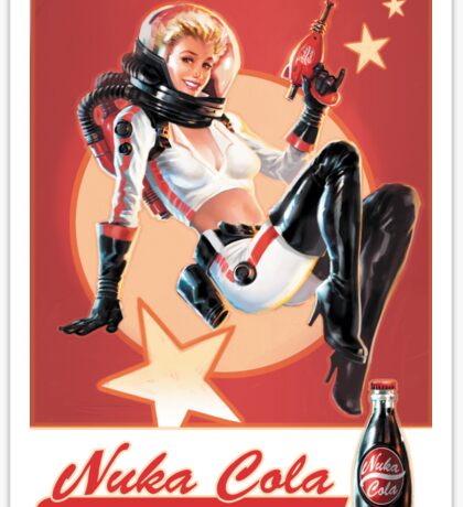 Fallout - Nuka Cola Sticker