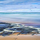 Confluence _ Hurrican River and Lake Superior by Kenneth Keifer