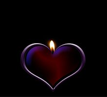 Candle heart by franceslewis